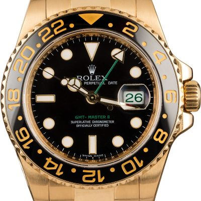 Fake Rolex Gmt-master Ii Ref 116718 Men's Dial Black Automatic 3186