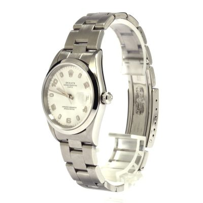 Rolex Date 15200 Men's Replica Dial White Automatic 3135 Watch