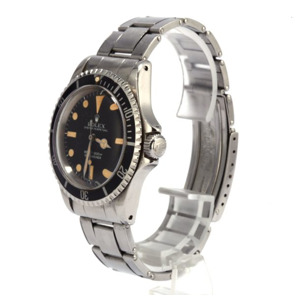 Rolex Submariner 5513 Fake Men's Automatic Movement 1520