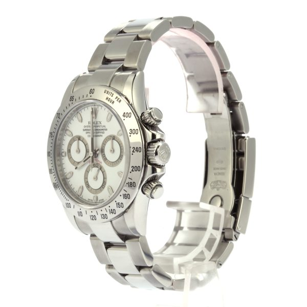 Rolex Daytona 116520 Automatic 4130 Case Stainless Steel 40mm