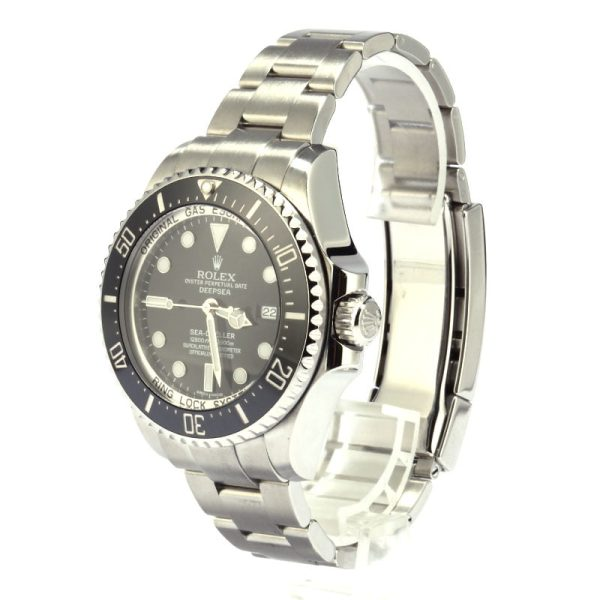 Rolex Sea-dweller Deepsea 116660 Dial Black Men's Automatic 3135