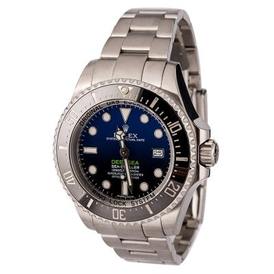 Rolex Deepsea 116660 Men's Fake Dial Deep Blue Stainless Steel Oyster
