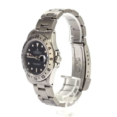 Rolex Explorer Ii 16570 Men's Replica Case 40mm Stainless Steel
