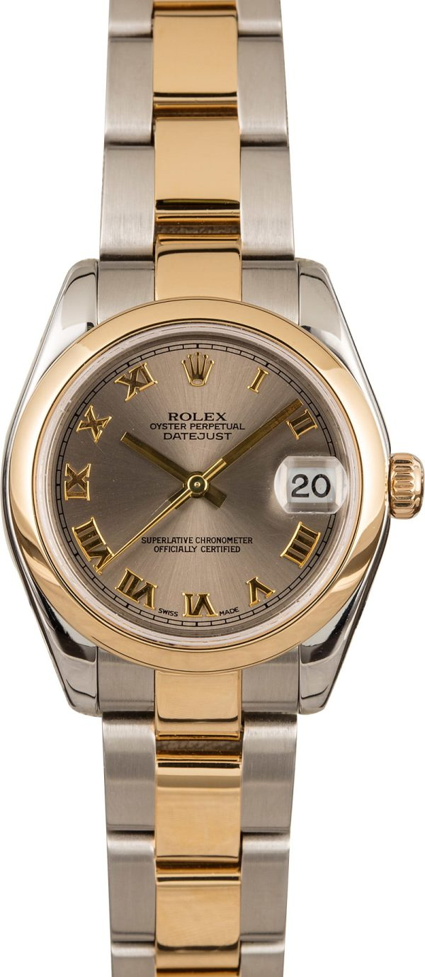 Rolex Datejust 178243 Fake Mid-size Case 31mm Stainless Steel Watch