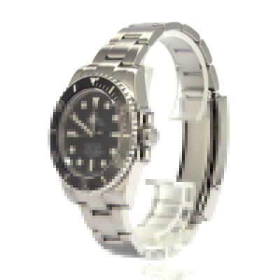 Rolex Submariner 114060 Men's Fake Dial Black Stainless Steel Watch