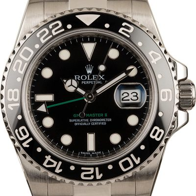 Rolex Gmt-master Ii - 116710ln Men's Dial Black Stainless Steel