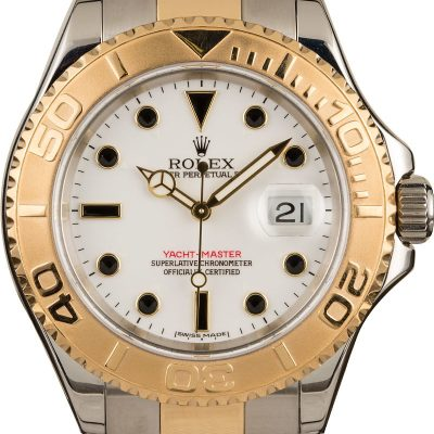 Rolex Yacht-master 16623 Men's Dial White Automatic 3135