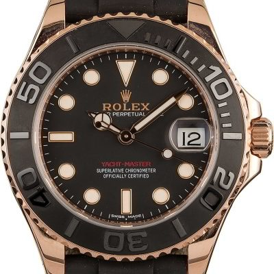 Rolex Yacht-master 268655 Case Mid-size 37mm 18k Everose Gold