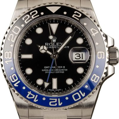 Rolex Gmt-master Ii - 116710blnr Men's Case 40mm Stainless Steel