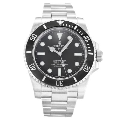 Rolex Submariner 114060 Mens 40 MM Black Automatic Steel Watch