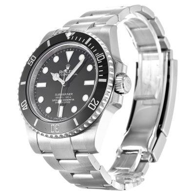Rolex Submariner 114060 Mens 40 MM Black Automatic Steel Watch
