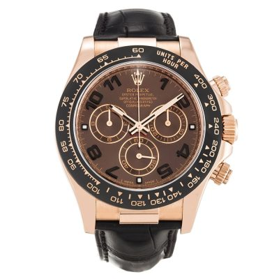 Rolex Daytona 116515 LN Mens 40 MM Automatic Chocolate Arabic Watch