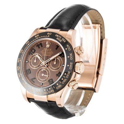 Rolex Daytona 116515 LN Mens 40 MM Automatic Chocolate Arabic Watch