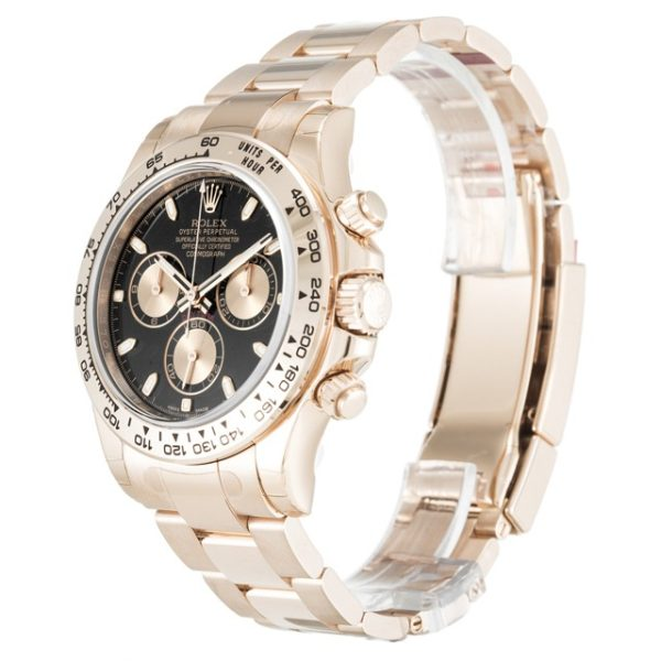 Rolex Daytona 116505 Black Baton Automatic Steel 40 MM Mens Watch