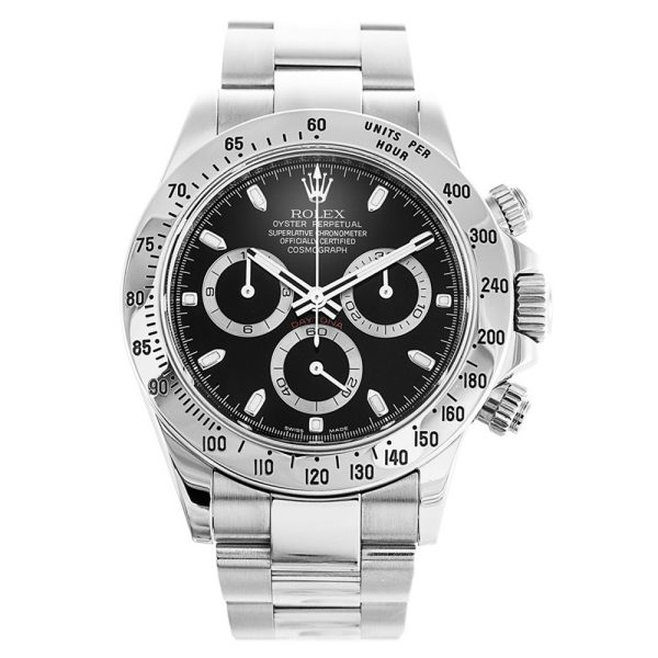 Rolex Daytona 116520 Stainless Steel Automatic 40 MM Mens Watch