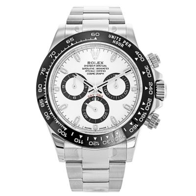Rolex Daytona 116500LN 40 MM Mens Automatic White Steel Watch