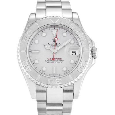 Rolex Yacht-Master 168622 Unisex Platinum Steel 35 MM Watch