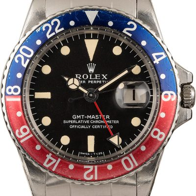 Rolex Gmt-master 1675 Men's Automatic 1570