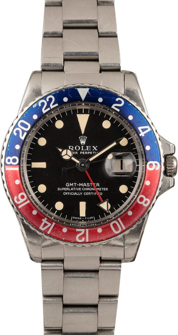 Rolex Gmt-master 1675 Men's Automatic 1570