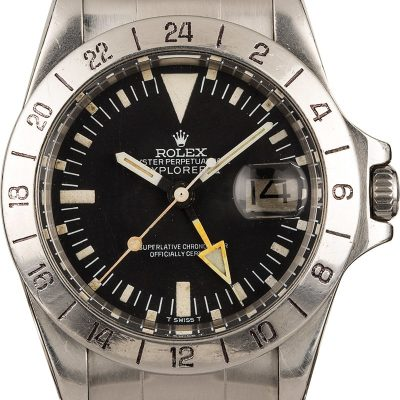 Rolex Explorer Ii 1655 Men's Automatic 1570 Watch
