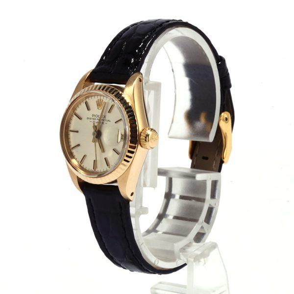 Rolex Ladies Datejust 6917 Case 26mm 18k Yellow Gold