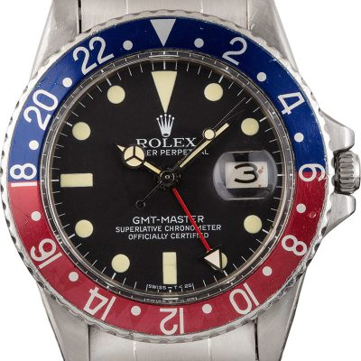 Rolex Gmt-master 1675 Men's Dial Black Automatic 1570