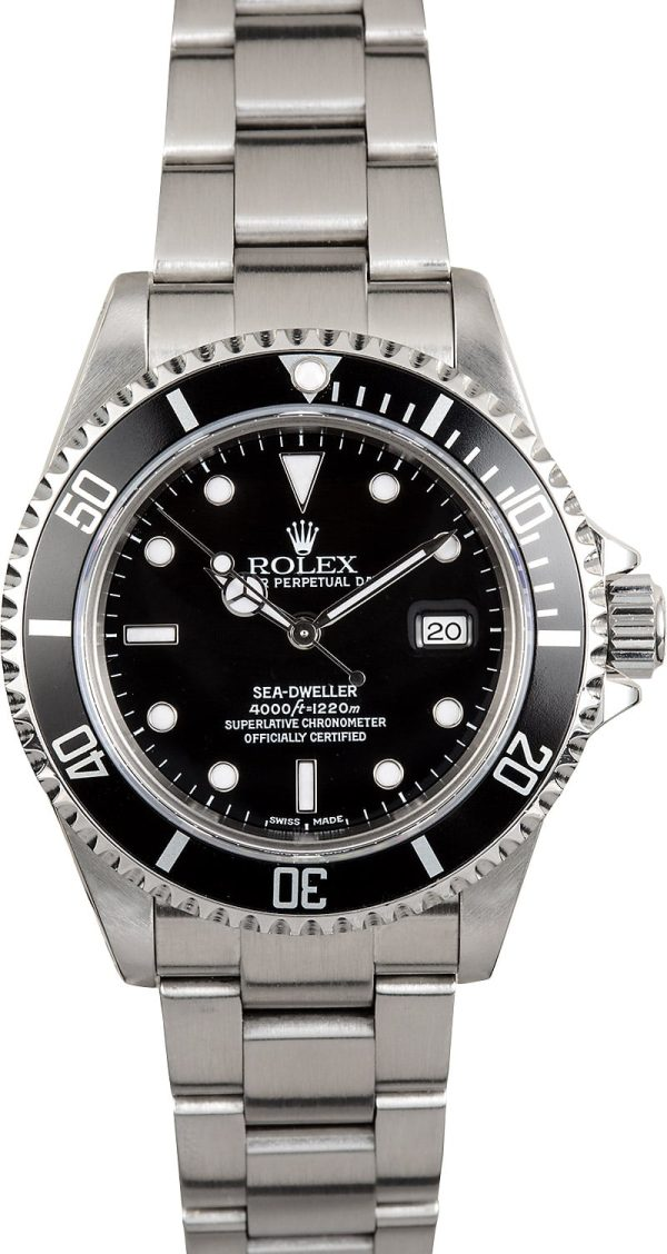 Rolex Sea-dweller 16600 Men's Case 40mm Automatic 3135
