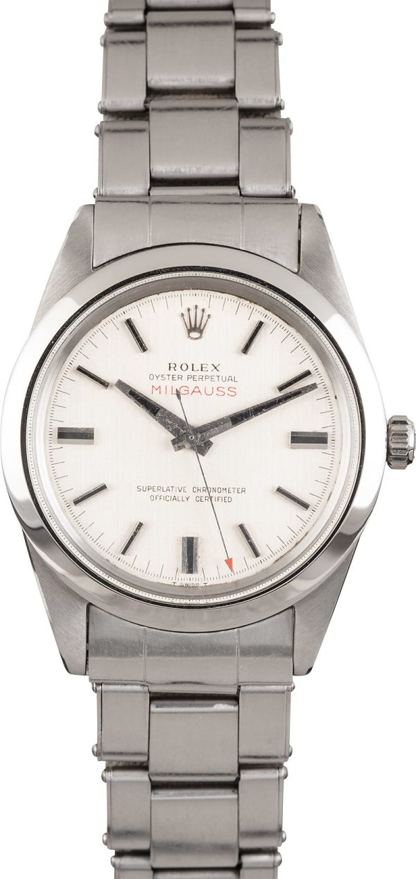 Rolex Milgauss 1019 Men's Waterproof Screw-down Stainless Steel
