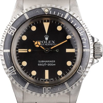 Rolex Submariner 5513 Men's Waterproof Screw-down Stainless Steel