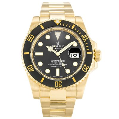 Rolex Submariner 116618 LN Black Baton Automatic 40 MM Mens Steel Watch