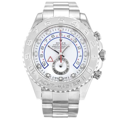 Rolex Yacht-Master 116689 White Mens Automatic 44 MM Steel Watch