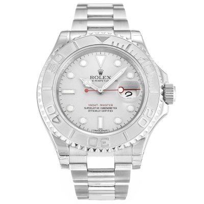 Rolex Yacht-Master 116622 Silver Automatic 40 MM Mens Steel Watch