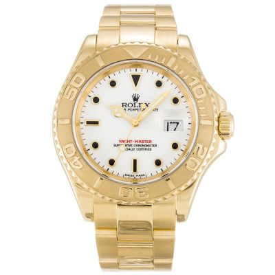 Rolex Yacht-Master 16628 Steel Automatic White 40 MM Mens Watch