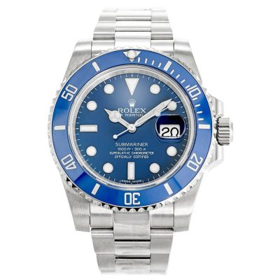 Rolex Submariner 116619LB Mens Blue Steel Automatic 40 MM Watch