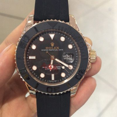 Rolex Yacht-Master 268655 Black Automatic 37 MM Mens Steel Watch