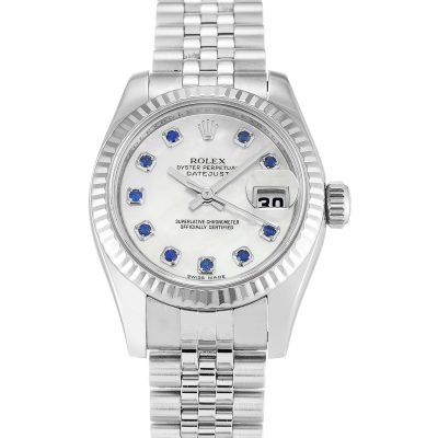 Rolex Datejust 179174 Automatic 26 MM Ladies Mother Of Pearl Watch
