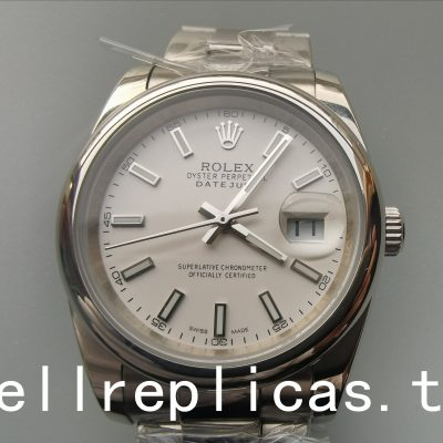 Rolex Datejust 126200 Men Case 36 Mm Stainless Steel Watch