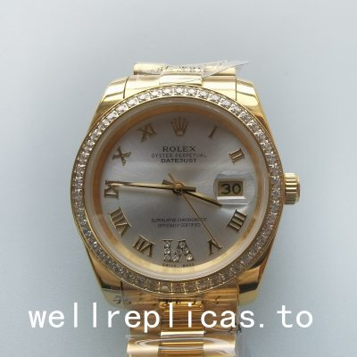 Rolex Datejust 126300 Case 31mm Dial Sliver Automatic Watch