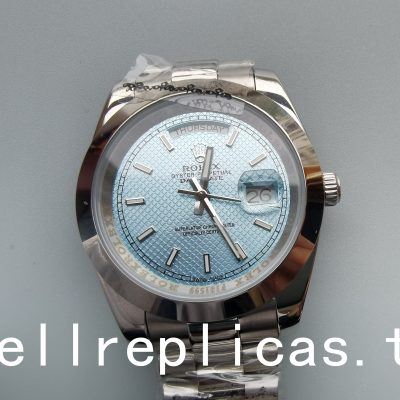 Rolex Day-date 228206 Mens Dial Blue Automatic Movement Watch