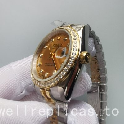 Rolex Datejust 126283rbr Men's Dial Gold Automatic Machinery