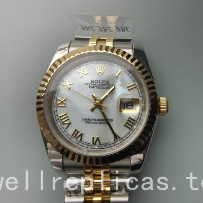 Rolex Datejust 116233 Mens Case 36mm Automatic Movement