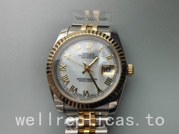Rolex Datejust 116233 Mens Case 36mm Automatic Movement