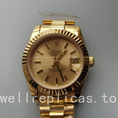 Rolex Datejust 68278 Case Mid-size 31mm Automatic Movement