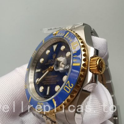 Rolex Submariner Date 116613lb Men's Dial Blue Automatic