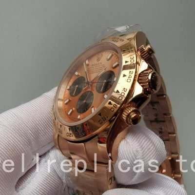 Rolex Daytona 116505 Men Case 40 Mm Rose Gold Automatic