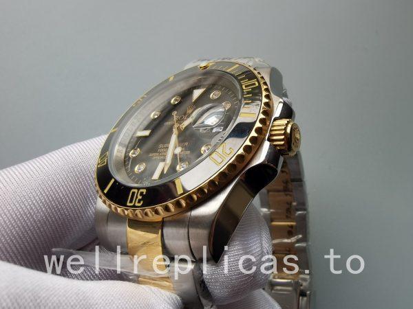 Rolex Submariner 116613ln-0003 Men Dial Black 18k Yellow Gold