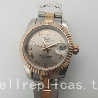 Rolex Datejust 179171 Ladies Case 26 Mm Roman Rose Gold