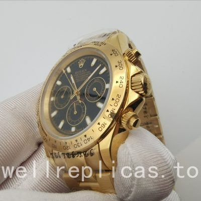 Rolex Daytona 116528 Men's Case 40 Mm Solid Yellow Gold