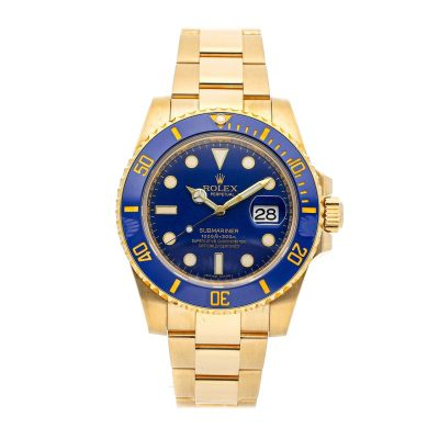 Rolex Submariner 116618lb Men's Dial Blue Automatic Movement