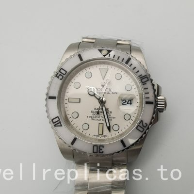 Rolex Submariner 116610 Dial White 316l Stainless Steel